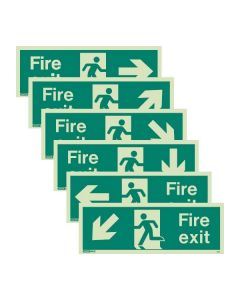 Jalite Fire Exit Signs