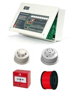 Two Wire Fire Alarm System
