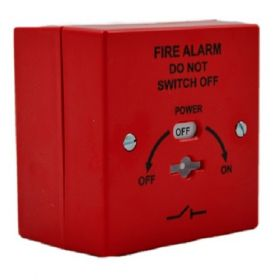 Vimpex Identifire 10-2310RST-S Mains Isolation Keyswitch - Red