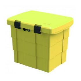 Firechief Storage Box / Grit Bin - Yellow - 108-1049