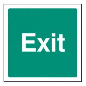 Exit Sign - Self-Adhesive Vinyl - 200 x 200mm - 22122F