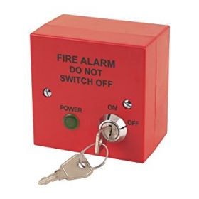 T2 Solutions 400-210R Fire Alarm System Tamper Proof Mains Supply - Isolation Switch