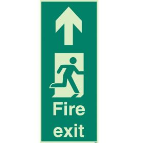 Jalite 4055X Floor Mounted Fire Exit Sign - Photoluminescent