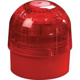Apollo 55000-005 XP95 Red Sounder Beacon with Isolator IP65 92-100dB(A)