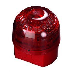 Apollo 55000-017 Alarmsense Sounder Beacon - Red Two Wire Sounder Beacon