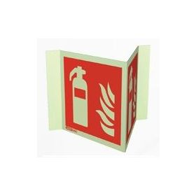 Jalite 6422P20 Wall Mounted Panoramic Fire Extinguisher Sign