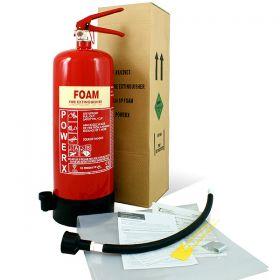 Value Foam Fire Extinguisher - 9 Litre AFFF Thomas Glover PowerX - 81/02904