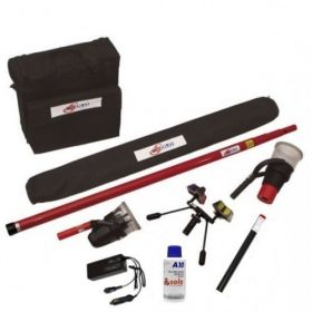 SOLO 822-1-001 Smoke & Cordless Heat Dectector Testing Pack (Enables Testing And Removal Upto 6 Metres)