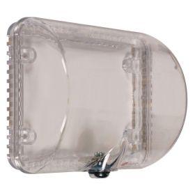 STI-9105 Medium Thermostat Protector Flush Mount with Key Lock - Clear