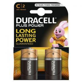 Duracell Size C Alkaline Battery - Pack of 2 - MN1400 LR14 1.5V