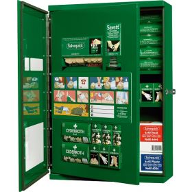 Cederroth First Aid Cabinet With Double Door - CD13