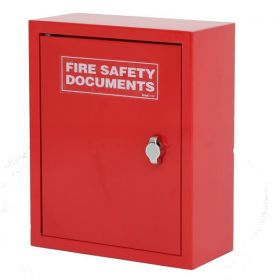 Fire Document Cabinet - Red - FMDC-RED