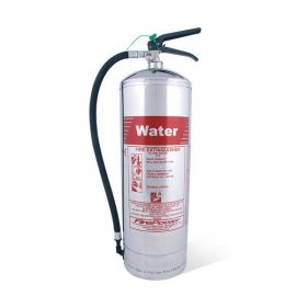 9 Litre Chrome Water Fire Extinguisher 9914/00
