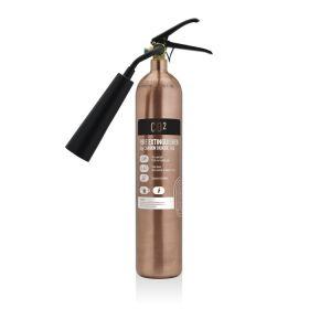 Commander Contempo 2Kg CO2 Fire Extinguisher - Antique Copper - COEX2AC