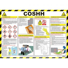 COSHH Poster - A2 Laminated - 81/03282
