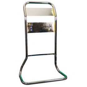 Commander Contempo Antique Polished Gold Tubular Fire Extinguisher Stand - CS33/PG