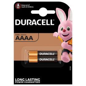 Duracell Ultra AAAA Alkaline Battery - Pack of 2 - MX2500 LR61 1.5V