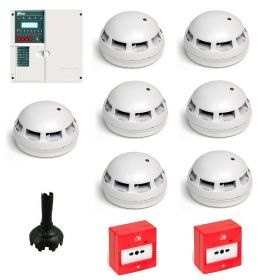 Fike 604 0008 Twinflex Pro 8 Zone Contractor Kit