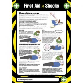 First Aid Shocks Sign / Poster - 55905