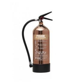 Firechief 1818 Polished Copper 6 Litre Foam Fire Extinguisher - FPF6/CO