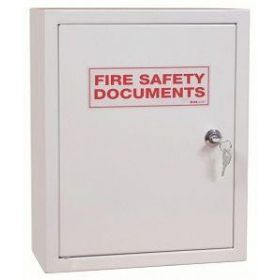 Fire Document Cabinet With Key Entry - White - FMDCK/WHITE