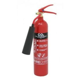 Firechief CO2 Fire Extinguisher - 2Kg - FXC2 (Supply With 80 x 200mm ID Sign)