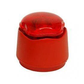 Hosiden Besson Banshee Excel Lite CHL Sounder Beacon - Red Body & Lens - 958CHL1000 | The Safety Centre
