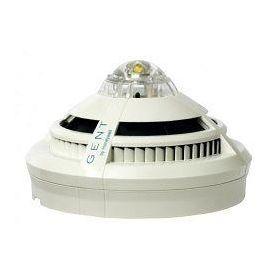 Gent S4-911-V-VAD-HPW Vigilon S-Quad CO Dual Optical Heat Multisensor Detector Voice Sounder & High Power White VAD