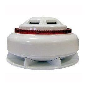 EMS FCX-191-201 Firecell Optical Smoke Detector With Wireless Sounder Beacon Base