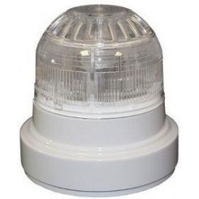EMS FC-310-011 Firecell Wireless Sounder Beacon - White With Clear Lens