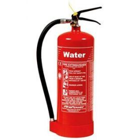 Thomas Glover 9910/00 6 Ltr Water Fire Extinguisher - Spray Type (Supply With Water Extinguisher ID Sign (+ 1.50) )