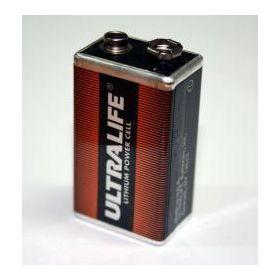 EDA-Q640 Electro Detectors Ultralife PP3 Lithium 9V Battery Pack for EDA A-Series Detectors