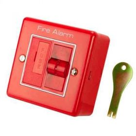 Haes SW-MISOL Fire Alarm Mains Isolation Keyswitch - Red