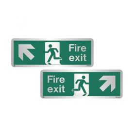 Metal Fire Exit Signs