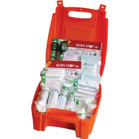 Evolution First Aid Kit In Orange Case - Small - BS8599-1 Compliant - K3032SM (No Wall Mounting Bracket Required)