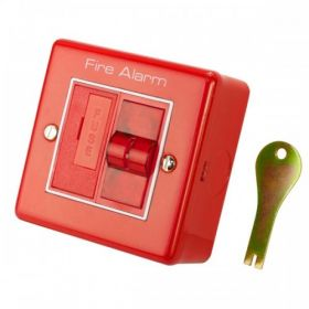 M2 RPE5142 Fire Alarm Mains Isolation Keyswitch - Red
