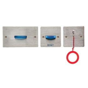 Channel Safety N/HARK+ Stainless Steel Disabled Toilet Alarm Kit