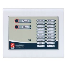 C-Tec NC910F 800 Series 10 Zone Master Call Controller - Flush Mounted