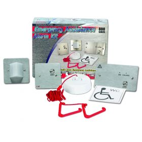C-Tec NC951/SS Disabled Person Toilet Alarm Kit - Stainless Steel Version