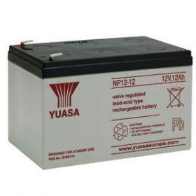 Yuasa Sealed Lead Acid Battery NP12-12 - NP 12Ah 12V Rechargeable