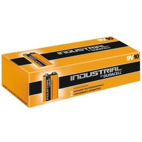 Duracell Industrial PP3 Alkaline Battery - Pack of 10 - ID1604 6LP3146 9V