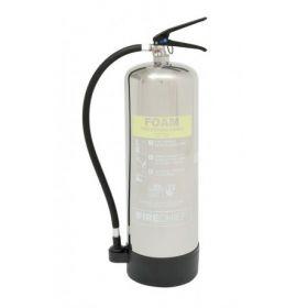 Firechief PXF9 Polished 9 Litre Foam Fire Extinguisher