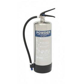 Firechief PXP6 Polished 6Kg Powder Fire Extinguisher