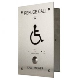 Channel Safety R/CH/RCO/H/SS/1 Disabled Refuge System Stainless Steel Outstation