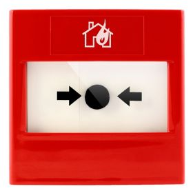 STI RP-RF2-01 ReSet Conventional Manual Call Point - Red - Flush Mounting Version