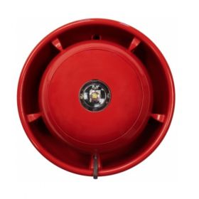 EMS SmartCell Wireless Ceiling Mounted Sounder & VAD Beacon - Red - SC-33-0120-0001-99