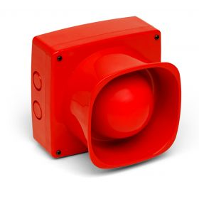 Fike 302 0004 Twinflex Hi Point Wall Mounted Sounder - Red
