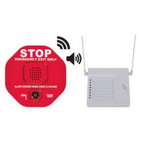 STI-6400WIR8 Wireless Exit Door Alarm - Red - Includes STI-34108 8 Channel Receiver