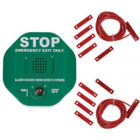 Exit Door Alarm For Double Doors - Green STI-6402/G
