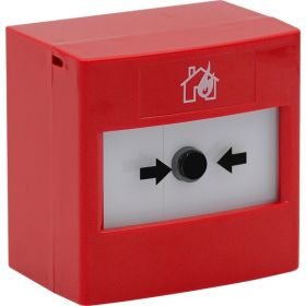STI RP-RS2-01 ReSet Conventional Manual Call Point - Red - Surface Mounting Version